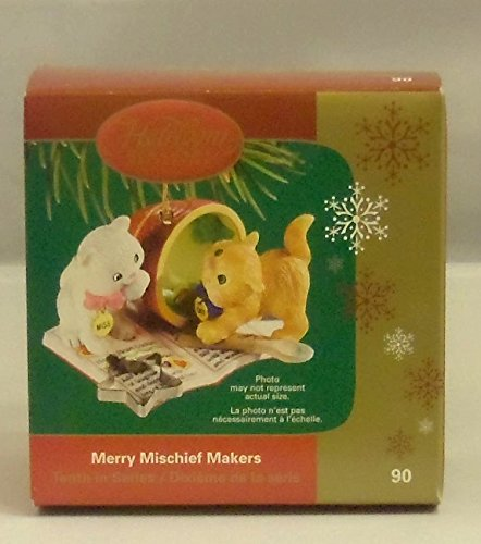 Carlton Cards Heirloom Collection Merry Mischief Makers 10th in Series Christmas Ornament