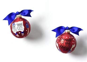 Coton Colors Christmas KU Crowd Cheer Ornament