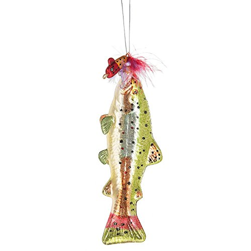Midwest Seasons 2017 Fish with Lure Ornament