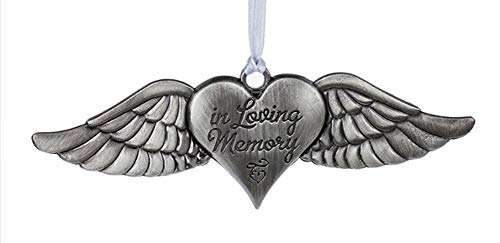 Midwest-CBK in Loving Memory Angel Wings Memorial Ornament