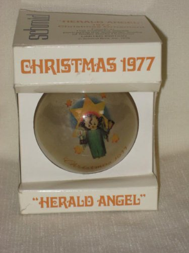 "1977 "" Herald Angel "" Christmas Ornament by Berta Hummel"