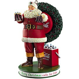 Carlton Heirloom 2011 Coca-Cola Santa Ornament #CXOR121Z