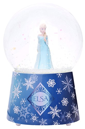 Trousselier TROUS98430 Elsa Frozen Snow Globe with Music – Blue