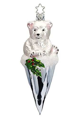 Inge-Glas Frosty Bear Icicle, 2018 Annual Ornament