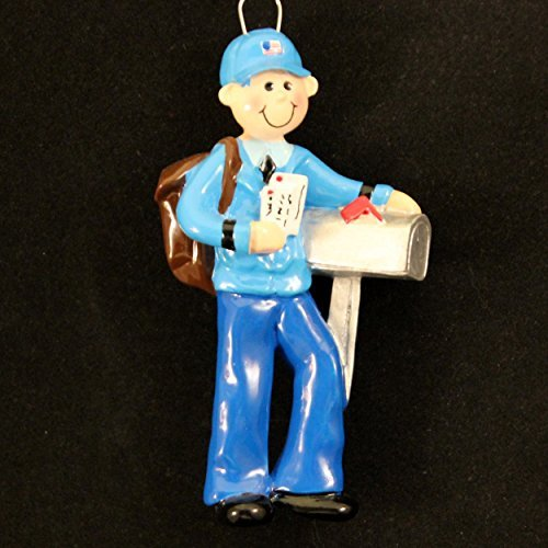 Personalized Mailman Christmas Holiday Gift Expertly Handwritten Ornament
