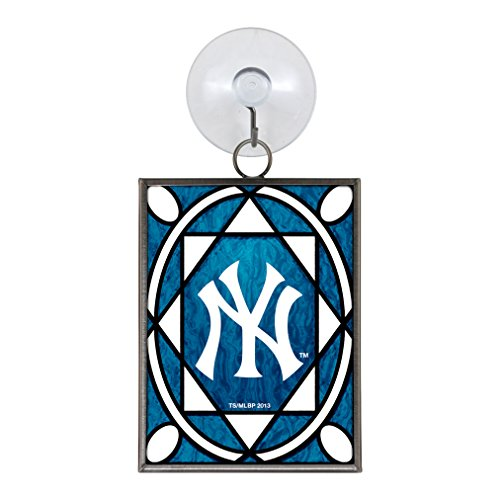 MLB New York Yankees Stained Glass Ornament