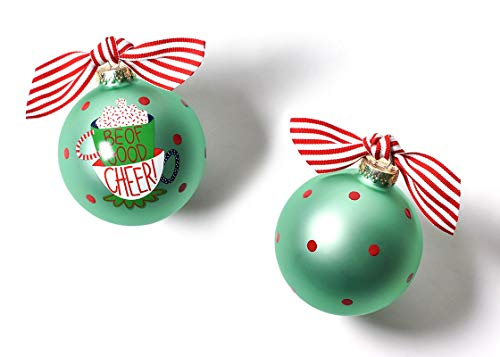 Coton Colors 100 MM Be of Be of Good Cheer Glass Ornament